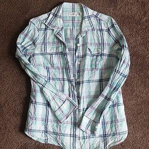 VINEYARD VINES Cotton Blend Button Down Shirt